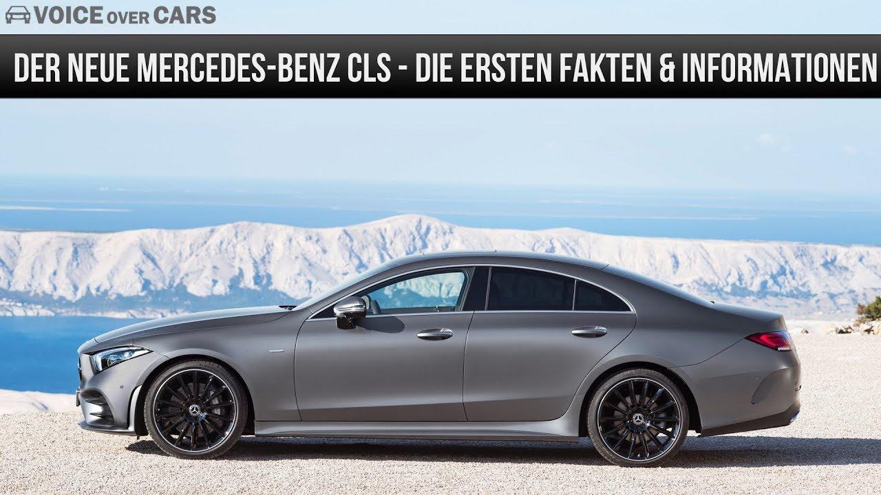 2018 Mercedes Benz Cls Die Ersten Fakten Und Informationen Edition 1 Motoren Leistung Preis