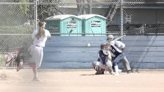 los altos high school varsity fastpitch softball vs walnut hs 5 4 17 vanny pitches a no hitter