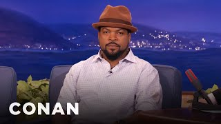 CONAN Highlight: Kevin always tries his best to get Cube to break, but Cube is too much of a professional to do that. More CONAN @ http://teamcoco.com/video ...
