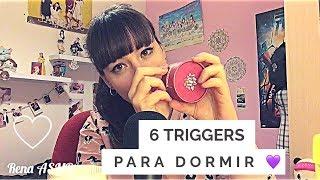 [Rena] ASMR Español - 6 Triggers más comunes para dormir ❤️