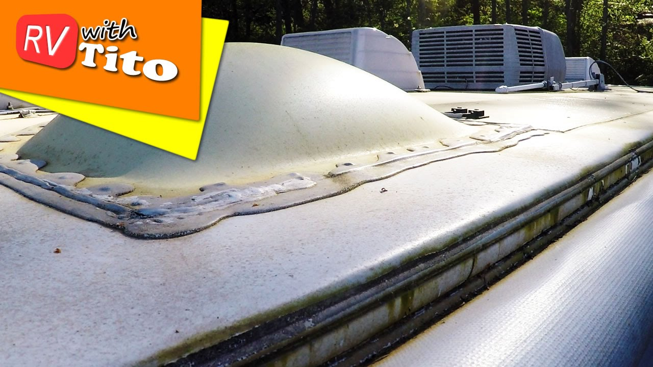 How To Tip: EASY Way to Clean a Dirty RV Roof