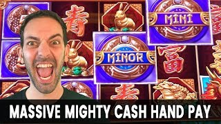 💰 HIGH LIMIT Mighty Cash JACKPOT!! 🤑 Massive WIN on MINIMUM BET $1s