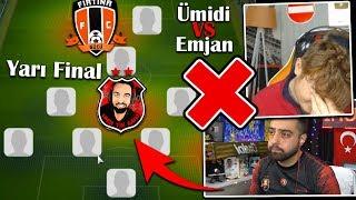 KİMİN İLK 11'İ SİLİNDİ !? (YARI FİNAL) - Ümidi vs Emjan PES 2019