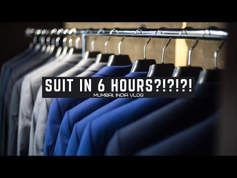 TAILOR MADE CUSTOM SUIT IN 6 HOURS!??! (Mumbai, India Vlog)