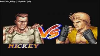 [HD] - Fightcade - Art Of Fighting 2 - Fernando_BR(BRA) Vs Ptk007(BRA)