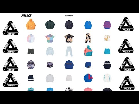 PALACE SUMMER 17 FULL COLLECTION! (FULL RANGE) SO MUCH FIRE!!!!