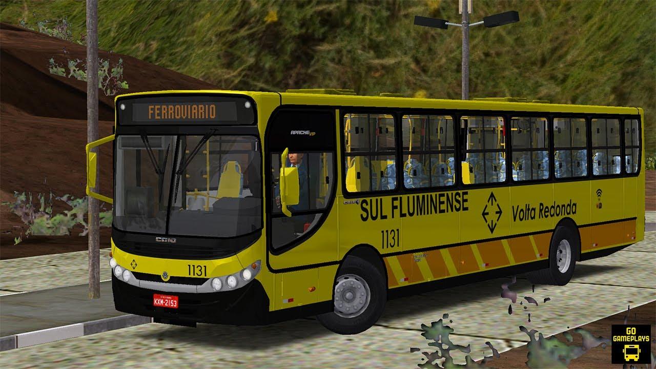 OMSI 2 - CAIO APACHE VIP II VW 17.230 EOD | MAPA VALE DAS MANGUEIRAS [G29]