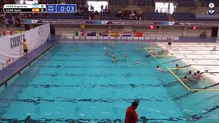 Game 137 (ARG vs ESP U19M) - 5th CMAS Underwater Hockey Age Group Worlds - Sheffield, UK (Court B)