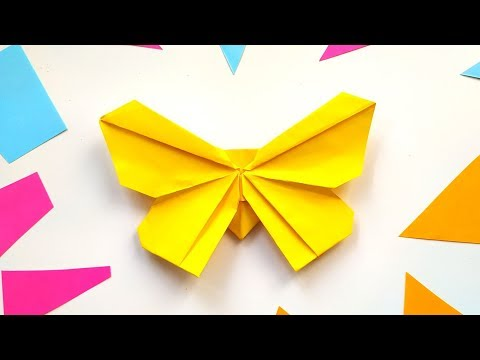 origami-butterfly-tutorial-step-by-step---diy-paper-crafts-ideas-for-home-decor