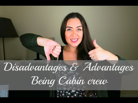 Advantages & Disadvantages of being cabin crew | Tasha Parke