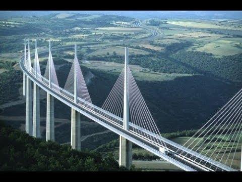Vijadukt Millau most na nebu