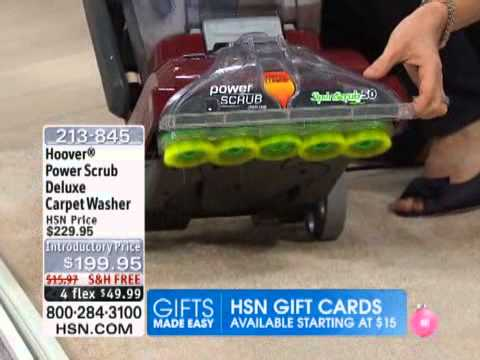 Hoover Power Scrub Deluxe Carpet Washer Youtube