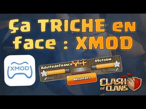 XMOD sur Clash of Clans | On GAGNE contre des TRICHEURS | Clash of Clans Français