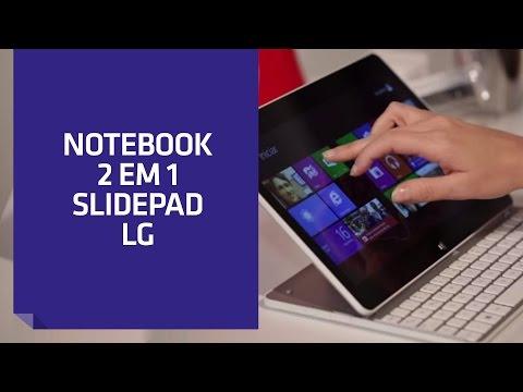 Notebook 2 em 1 LG Slidepad