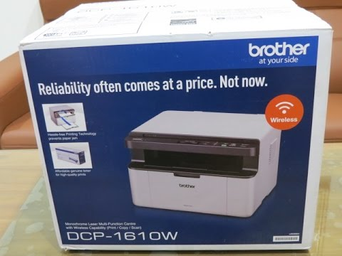 BROTHER DCP-1610W PRINTER DRIVERS DOWNLOAD (2019)