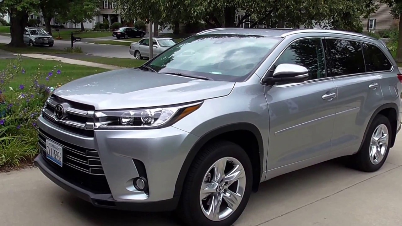 2017 Toyota Highlander Review Kids Carseats Safety Youtube