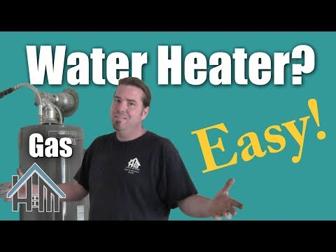 how to replace install gas water heater. Easy! Home Mender.