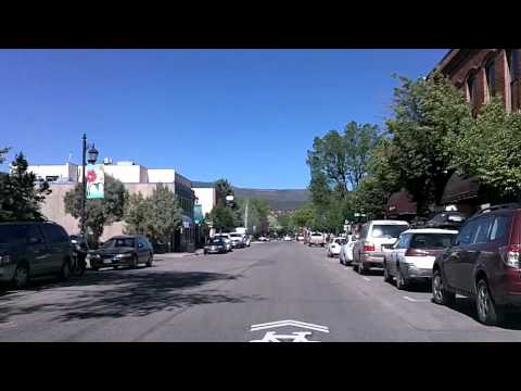Colorado Highway 82: Aspen, Carbondale, Glenwood Springs Time Lapse