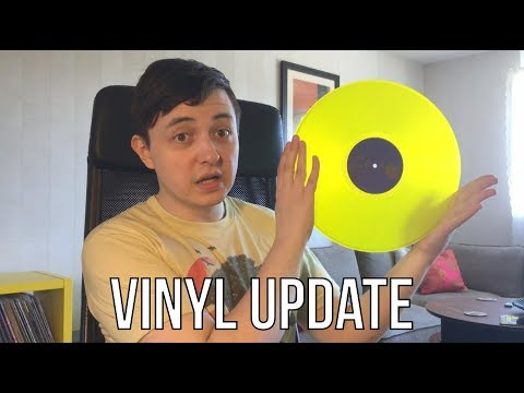 Vinyl Update #49 Floating banana wizards