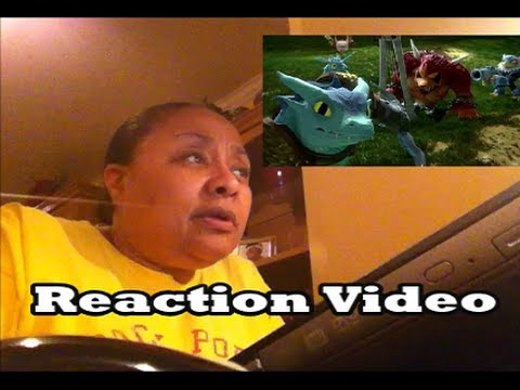 Mom reacts to Skylanders: Trap Team The Discovery Trailer