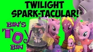 My Little Pony TWILIGHT SPARK-TACULAR! Six Twilight Sparkle Toy Reviews! by Bin