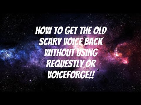 How To Get The Old Scary Voice Back on Vyond Without Requestly & VoiceForge