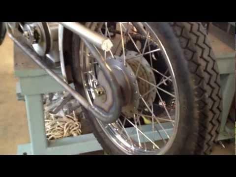 McLean's (p1) Royal Enfield Bullet 500 ~ Moped
