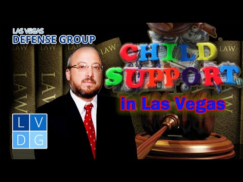 Child support in Las Vegas – How much will I have to pay?