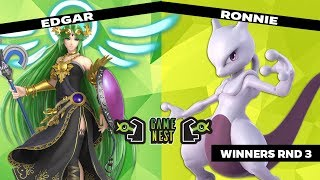 Game Nest Smash It Up: Edgar (Palutena) vs Ronnie (Mewtwo) - Winners Round 3