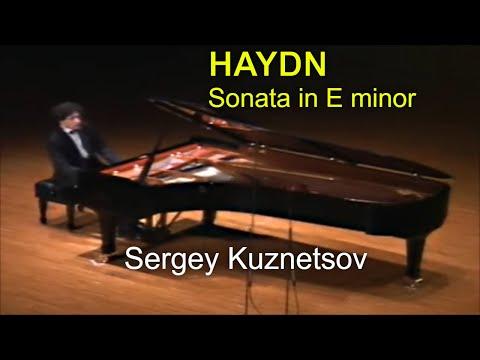 Haydn, piano sonata in E minor — Sergey Kuznetsov