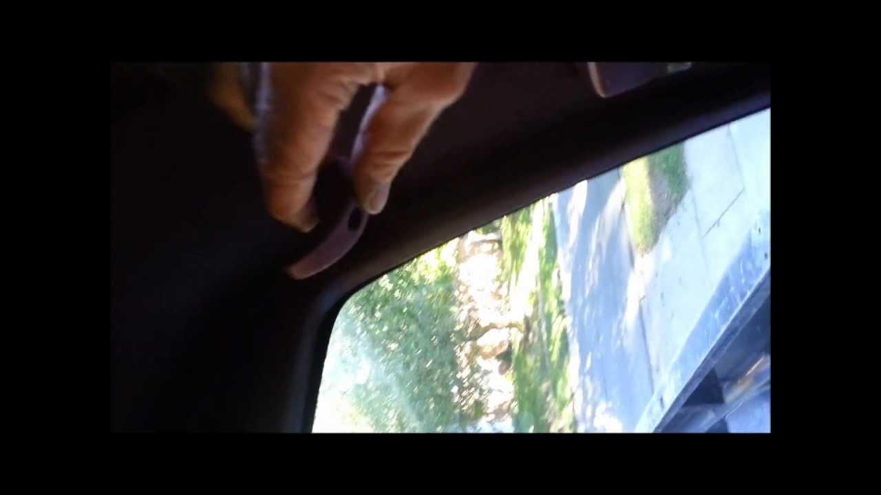 Sagging Headliner Repair 1992 Chevy Silverado - YouTube