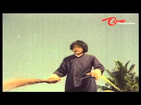 Raja Babu Funny Speech From The Top Of A Van