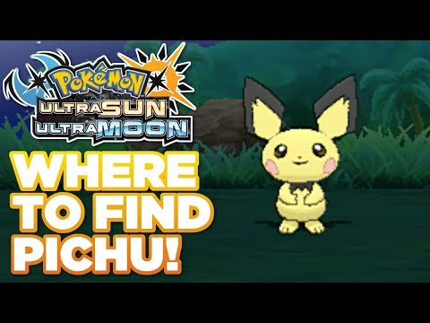 How To Find Pichu in Pokémon Ultra Sun and Moon! Easily Find Pichu!