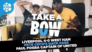 Liverpool 4-0 West Ham, Petr Cech's Back Pass, Paul Pogba Captain - Take a Bow
