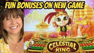 NEW GAME? CELESTIAL KING SLOT MACHINE BONUS