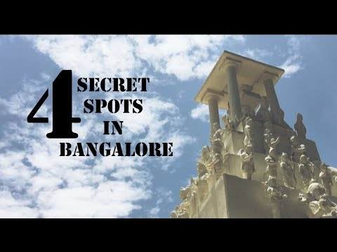 4 SECRET SPOTS IN BANGALORE