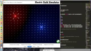 15-112 Term Project Electric Field Simulator and the Golf Game