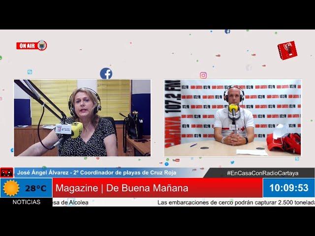 Radio Cartaya | En marcha el dispositivo de seguridad de Cruz Roja en las playas Cartayeras