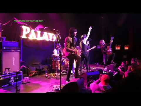 PALAYE ROYALE LIVE AT THE GRAMERCY THEATER IN NYC MARCH 2018