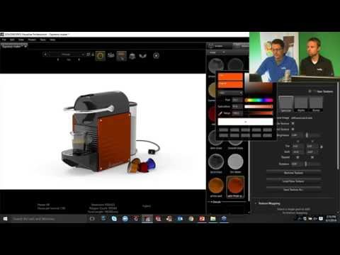 SOLIDWORKS Visualize webinar (Pro tip: Interactive VR's & Panoramas)