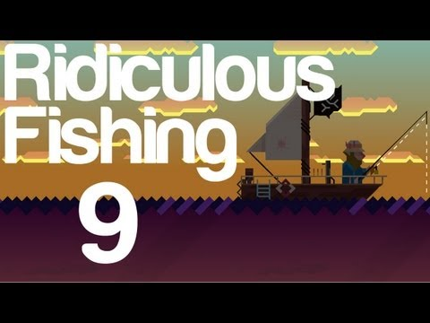 Ridiculous Fishing Gameplay Part 9 IOS   WikiGameGuides