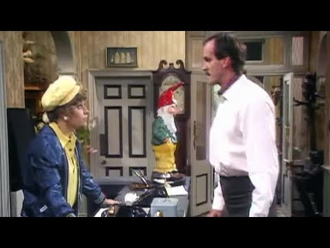 John Cleese on Sybil  Fawlty Towers  BBC