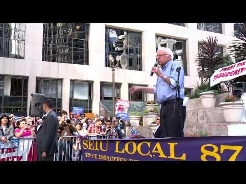 Bernie Speaks at Union Rally   Bernie Sanders