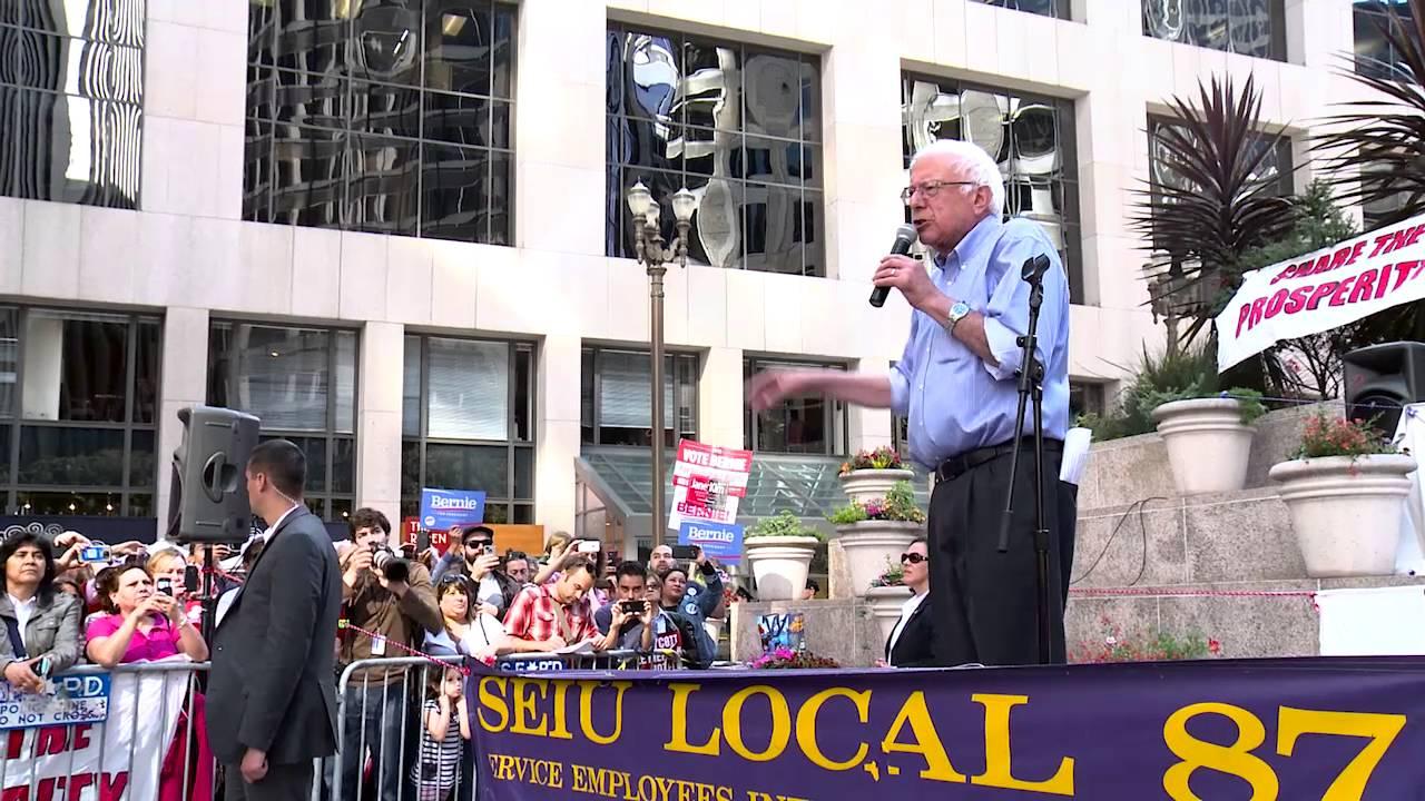 Bernie Speaks at Union Rally | Bernie Sanders - YouTube