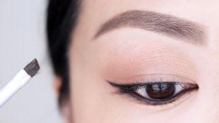 Eyebrow Tutorial For Beginners | chiutips