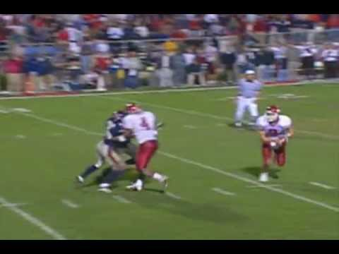 Eagles All-pro Offensive tackle Jason Peters TOUCHDOWN catch in college