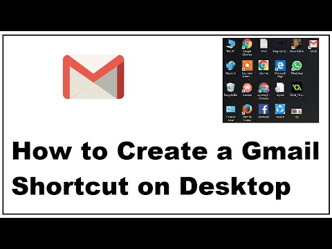 How to Create a Gmail Shortcut on Desktop