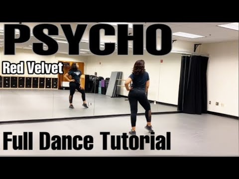 Red Velvet 'Psycho' - FULL DANCE TUTORIAL