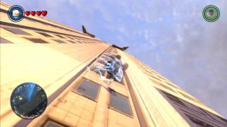 LEGO Marvel's Avengers - Open World Free Roam - Financial District (Quicksilver)
