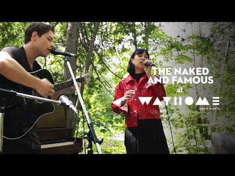 """The Naked and Famous perform """"Young Blood"""" live at WayHome"""